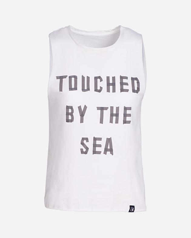 Touched by the sea white tee | KIMOA