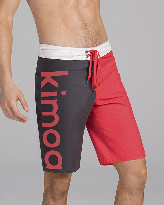 Wave rider Swimsuit red | KIMOA