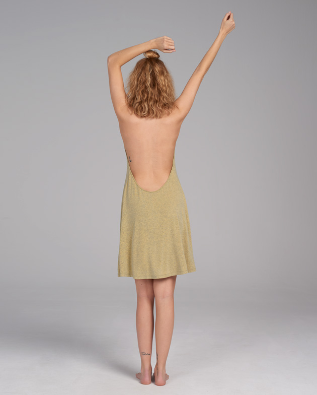 Sand and skin dress | KIMOA
